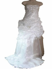Unbranded Crystal/Diamante Satin Wedding Dresses