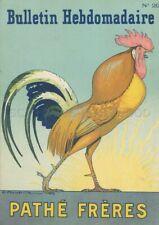 BULLETIN HEBDOMADAIRE N°20 PATHE FRERES 1910 (ROUBILLE- UNIQUEMENT COUVERTURE)
