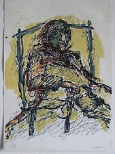 EPPELE GERARD LITHOGRAPHIE 1990 SIGNÉE CRAYON NUM /XV HANDSIGNED NUMB LITHOGRAPH