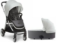 Mamas & Papas Armadillo Flip XT2 Baby Stroller with Bassinet Cloud Grey NEW 2017