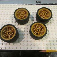 4297210 Lego Rim 30,4 mm x 20 mm Light Grey 2 Piece NEW