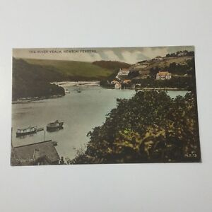 The River Yealm Newton Ferrers Postcard Unposted