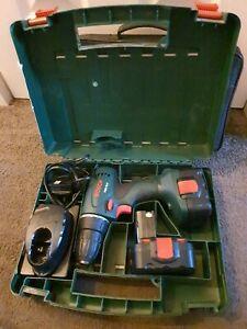 Bosch PSR 14.4 Cordless Drill With 2 Batteries And Charger with case