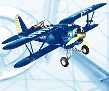 "Vintage Control line 1/10 Scale 35"" .60 GREGOR FDB-l Model Airplane Plans & Note"