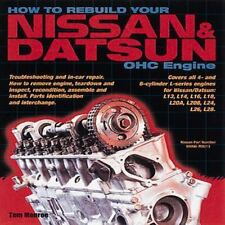 How to Rebuild Your Nissan & Datsun OHC Engine ~ 4 & 6 cylinder L-Series Engines