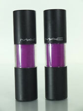 lot of 2 MAC LONG DISTANCE RELATIONSHIP Versicolour Lip Stain Gloss  8.5 ml/.28e