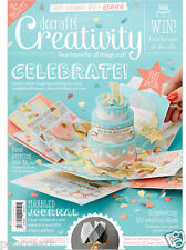 Docrafts creativity magazine April 2016 no. 69 + free mini cards & sewing kit