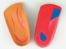 Vasyli Red Medium 3/4 Lenghth High Density Orthotics Heat Mouldable LOWEST