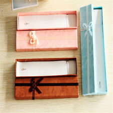 1x 21*4*2CM Jewellery Gift Boxes for Necklaces Bracelets Anklets Random Colorsむ