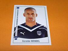 71 GERALDO WENDEL GIRONDINS BORDEAUX LESCURE PANINI FOOT 2011 FOOTBALL 2010-2011