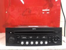 Peugeot 207 Car Radio Stereo Cd Mp3 Player Siemens Vdo Rd4n2m-02 Fully Decoded