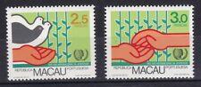 Macau 1985 postfrisch MiNr. 533-534   Internationales Jahr der Jugend.