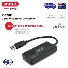 USB3.0 to HDMI Converter UNITEK Y-3702 Support Window/Mac OS