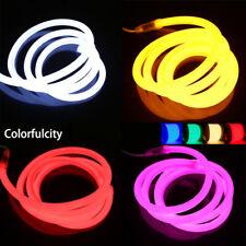220V 16mm ronda ronda Led Neon Glow Flex tira de luz de la cuerda 2835SMD