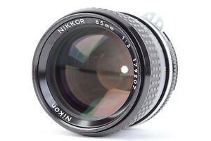 Nikon Ai NIKKOR 85mm f/2 Manual Focus Lens w/ HS-10 Hood  *PARTS/REPAIR*  #P3504