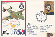 C15b RAF Iceland Expedition Flown Hercules Signed C Parsons & W S O Randle