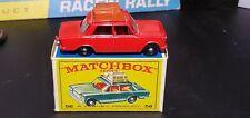 MATCHBOX #56-B FIAT 1500 RARE RED BODY TAN LUGGAGE w/Box!