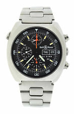 Bell & Ross By Sinn Space 1 Chronograph Stainless Steel Watch 140/42