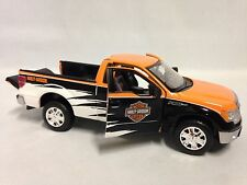 "Harley Davidson 2010 Ford F-150 Pickup Collectible 8"" Diecast 1:24 Maisto Toy OR"
