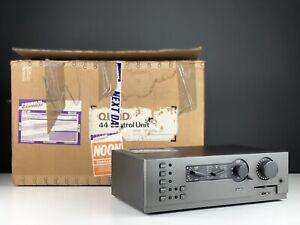 Quad 44 Pre Amplifier (1984-86). Boxed. 99p NR