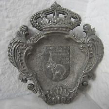 1934 antique Portuguese Portugal ashtray with elephant Colonial Exhibition Porto