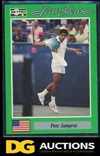 1991 NetPro Pete Sampras *PROTOTYPE* Rookie Card 🎾 Rare Variation RC