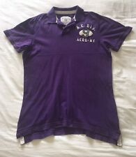 Men's Aeropostale Purple Polo Shirt Size L Large