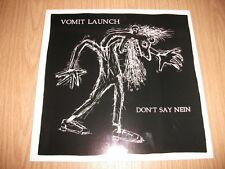 """Vomit Launch -Don't Say mein- 1990 LP 12""""  + Info-Blatt  rar"""