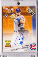 Ian Happ Chicago Cub Autograph 2017 Topps Now RC All Star Rookie OS-11F 1/5 AUTO