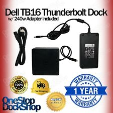 Dell TB16 Thunderbolt Laptop Docking Station w/ 240W Adapter