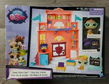 Littlest Pet Shop Sweet School Day Playset New In Box RARE