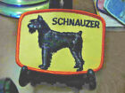 PICK-A-PET EMBROIDERED SEW ON PATCH   SCHNAUZER  DOG