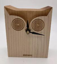Adult Swim  Wooden Owl Clock Rare