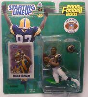 2000  ISAAC BRUCE - Starting Lineup - SLU - Sports Figurine - St. Louis Rams