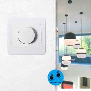 LED Dimmer Universal Unterputz Drehdimmer Lichtschalter Helligkeitsregler
