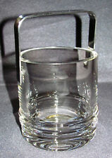 Kosta Boda Eiswürfelbehälter Kristallglas mit Metallbügel