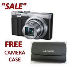 Panasonic LUMIX DMC-ZS50S 12.1 MP Digital Camera Silver BRAND NEW IN WHITE BOX