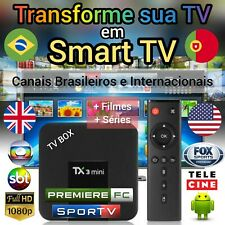 "Smart TV Box - Transforme sua TV em ""SmartTV"""