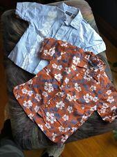 Faded Glory Boys Dress Shirts Lot OfTwo