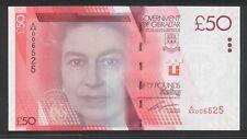 ( BN 0121) 2010 GIBRALTAR £50 Pounds,1st Prefix A/AA - UNC