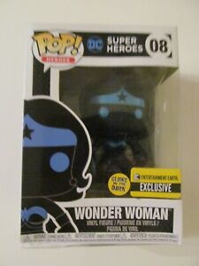 Funko Pop! Vinyl - Justice League - Silhouette Wonder Woman - Dented Box