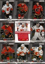 2013-14 Panini Prizm Calgary Flames Complete Team Set (10)