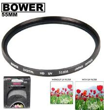 Bower 55mm UV Filter For Nikon D5600 D3500 D3500 D3400 w/ AF-P DX 18-55mm  Lens