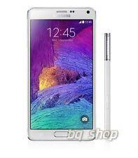 "Samsung Galaxy Note 4 N910 White 32GB OctaCore 3GB Rom 5.7"" 16MP Phone By FedEx"