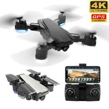 New GPS Drone with 4K HD Adjustment 50x zoom Camera Wide Angle WIFI FPV RC Quadc