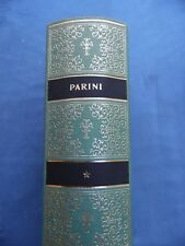 GIUSEPPE PARINI-OPERE SCELTE-CLASSICI UTET-PRIMA EDIZIONE 1961