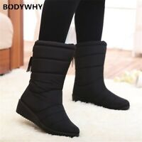 New Women Boots Winter Women Ankle Boots Waterproof Warm Women Snow Boots Shoes