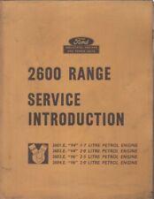 FORD 2601E 2602E 2603E 2604E INDUSTRIAL ENGINE ORIG. 1965 FACTORY SERVICE MANUAL
