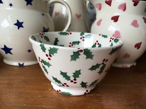 ●✿EMMA BRIDGEWATER●✿ Limited Edition Collectors Club●✿Christmas Bowl●✿Holly