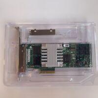HP NC364T PCI-E 4-PORT GIGABIT SERVER ADAPTER LOW PROFILE 436431-001 435506-003